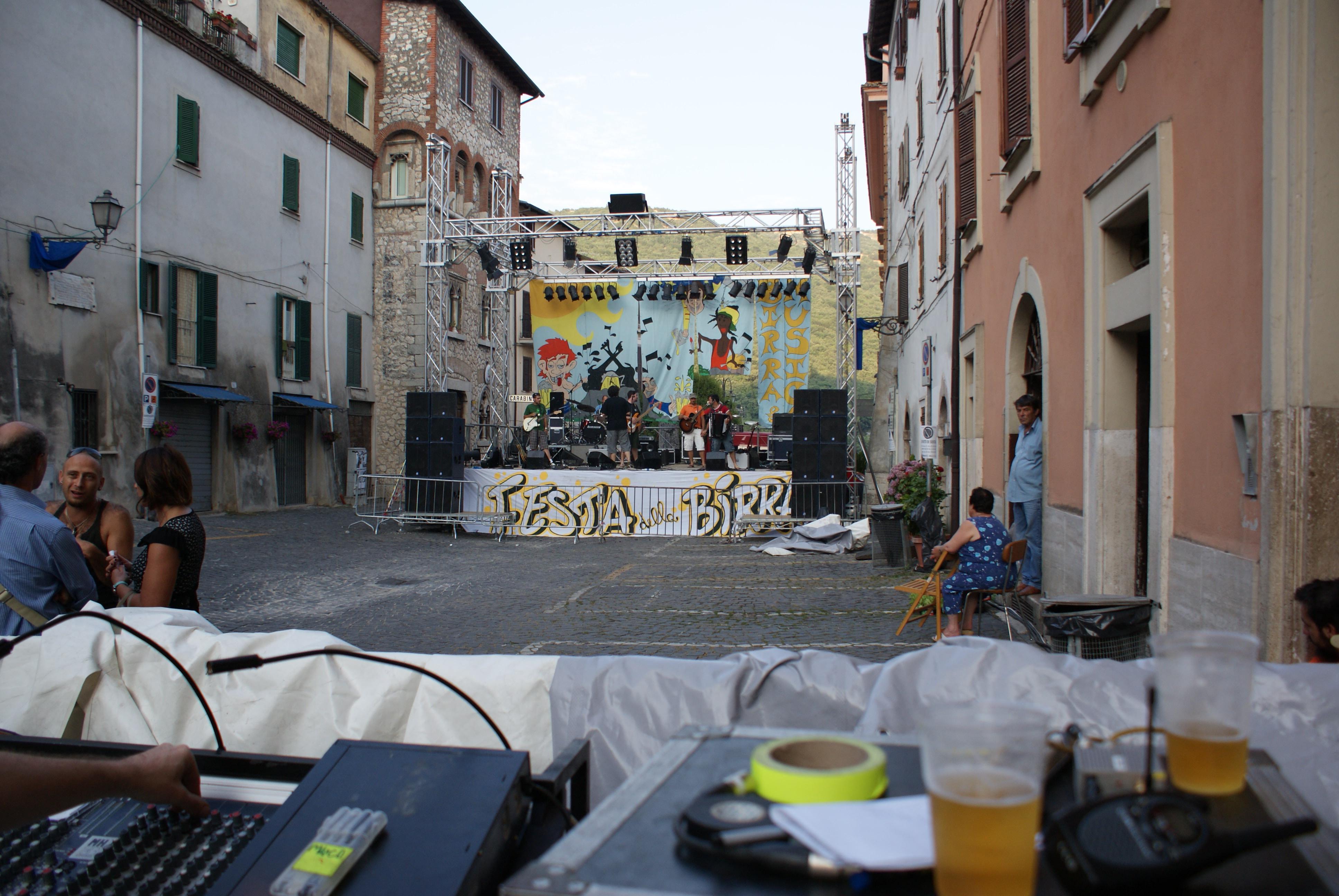 Festa della Birra, Arsoli (Roma)