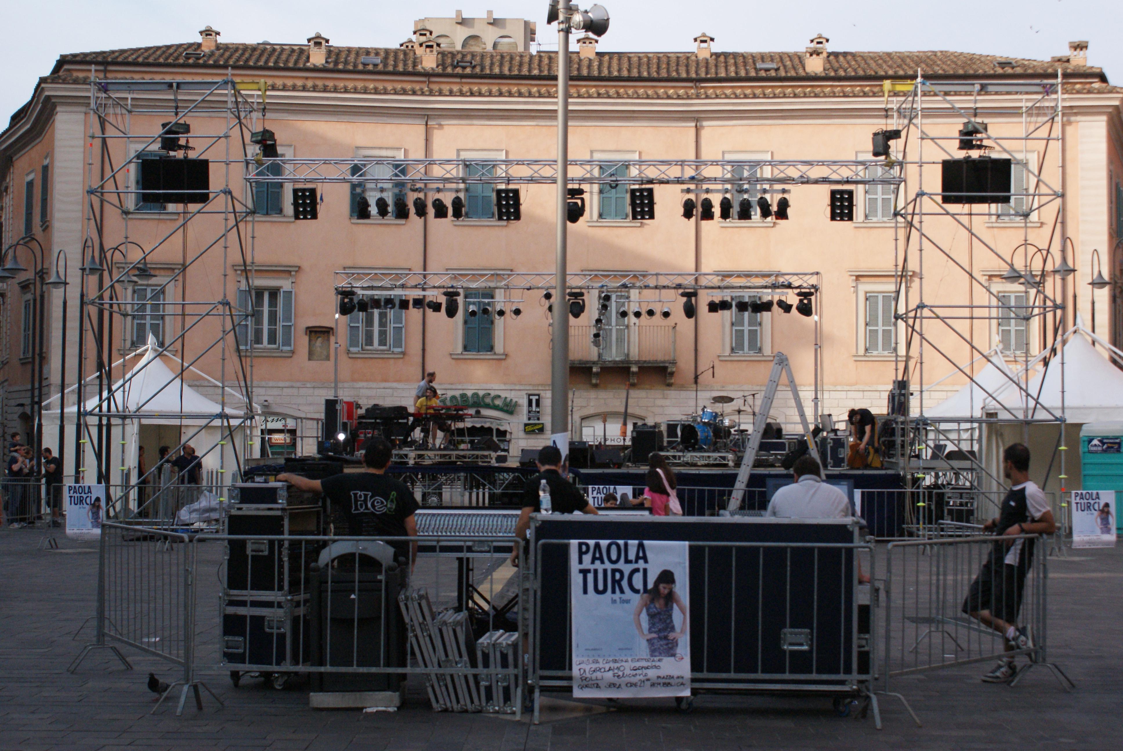 Manifestazioni Varie - Paola Turci