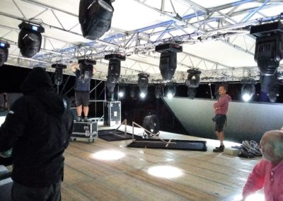 Allestimento con Moving Head