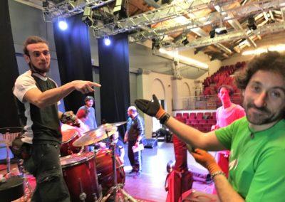Allestimento live Teatro Secci, Terni